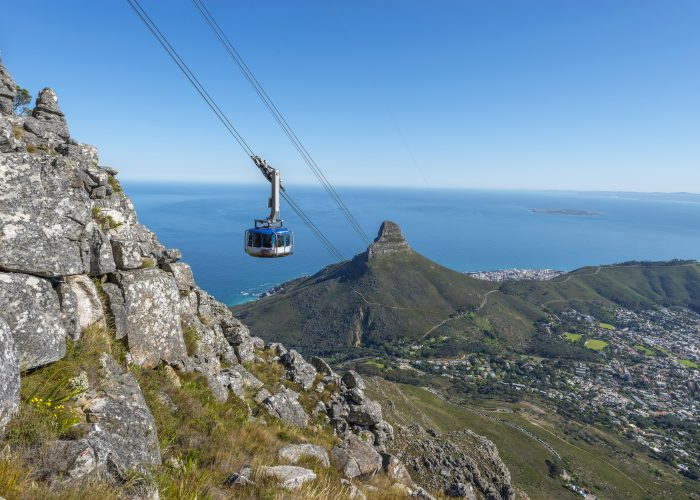 Table Mountain Aerial Cableway - Cape Town, Afrika Selatan
