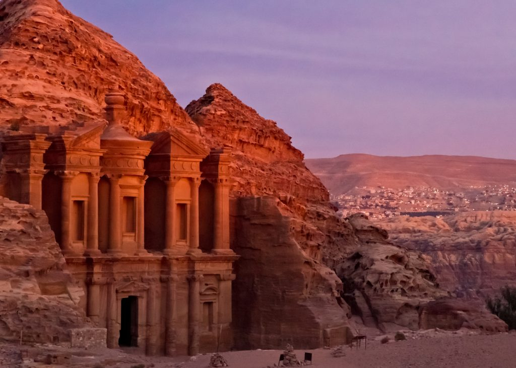 The Back Route to Petra, Jordan