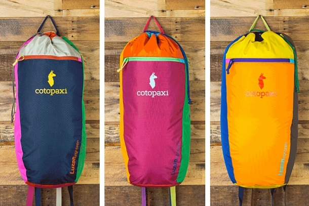 Luzon Del Dia Backpack Ulasan: A Colorful 18-liter Daypack